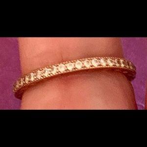 Pandora Ring with White Sapphires! 💕